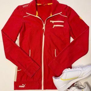 Ferrari Puma zip up jacket